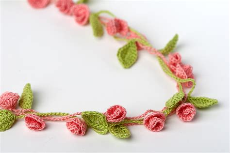 crochet jewelry patterns with 25 cool crochet necklace patterns guide patterns