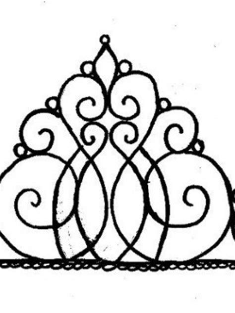 tiara template for cake top royal icing tiara patterns