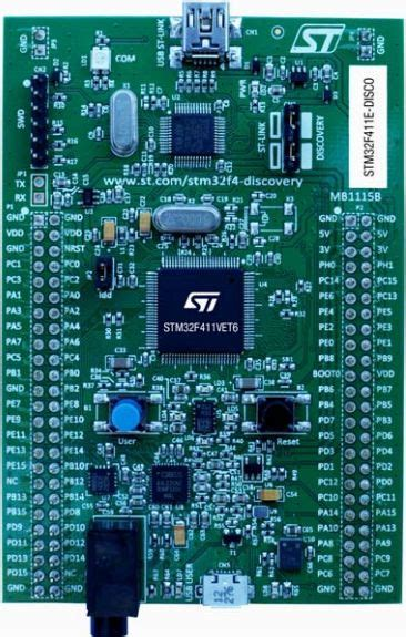 Stm32f411e Discovery stm32f411e disco reference design microcontroller