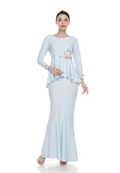 Fashion Baju Bluesky modern baju kurung colours and styles you ll want to wear