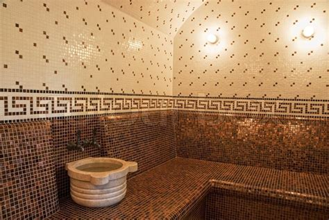 turkish bathroom tiles turkish bath with ceramic tile in roman style stock