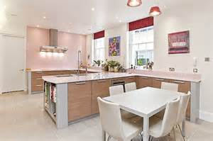 light pink kitchen what do these kitchens say about their owners