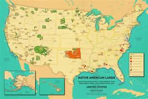 indian reservations map oc a more retro map of american reservations and