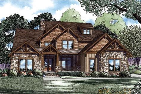 country craftsman house plan 82259