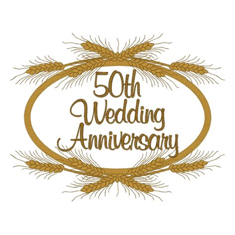 Golden Anniversary Clipart Clipart Suggest Clipart 50th Wedding Anniversary