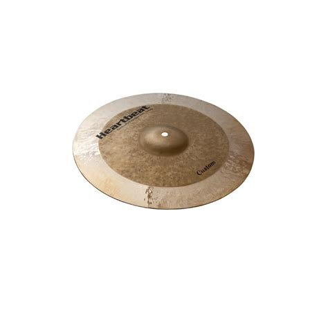 Handmade Cymbals - custom hi hat cymbals heartbeat worship