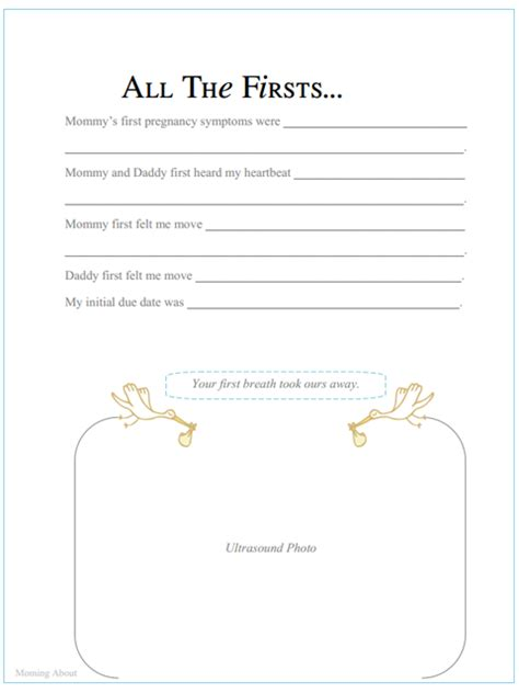 templates for baby book pages moming about printable baby book pages part ii