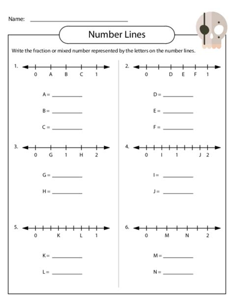 Fractions On A Number Line Worksheet by Free Worksheets 187 Compare Fractions Number Line Worksheets
