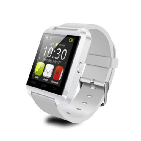bluetooth smart watch wristwatch u8 fit for smartphones lemfo bluetooth smartwatch in white smartwatches org