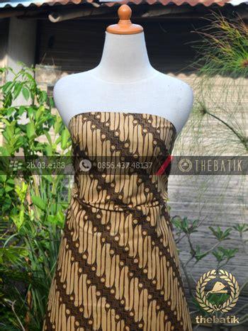 Kain Panjang Batik Motif Padi Sagedeng Bahan Batik Karawang jual kain batik motif parang srimpi sogan thebatik