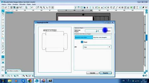 maker templates template maker box e silhouette studio de em portugu 234 s