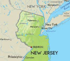 Map Of New York And New Jersey by What Is The Distance From New York To New Jersey Quora
