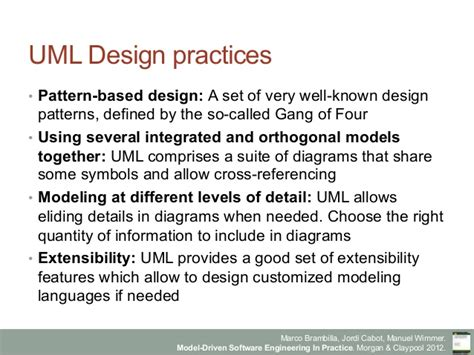 repository pattern gang of four model driven software engineering in practice chapter 6