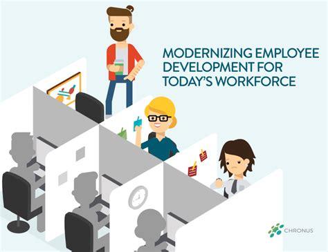employee development modernizing employee development ebook chronus