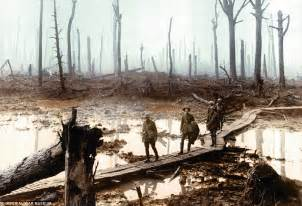 ww1 in color the horror of the war as you ve never seen it before