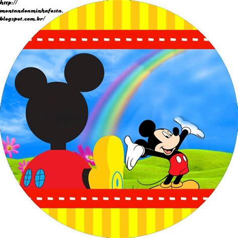 Sticker Stiker Label Pengiriman Disney Mickey Mouse Miki Tikus mickey clubhouse free printable bar labels oh my
