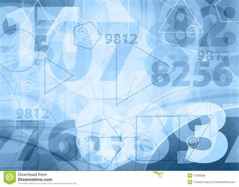 background design numbers light blue numbers design royalty free stock photos
