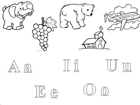 imagenes para colorear que inicien con las letras del abecedario la delicia de aprender