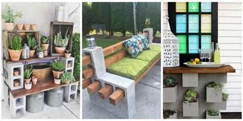 genius ways people   cinder blocks