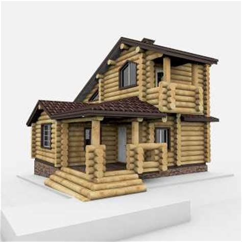 create 3d model of your house wood house 3d model 3ds max tga