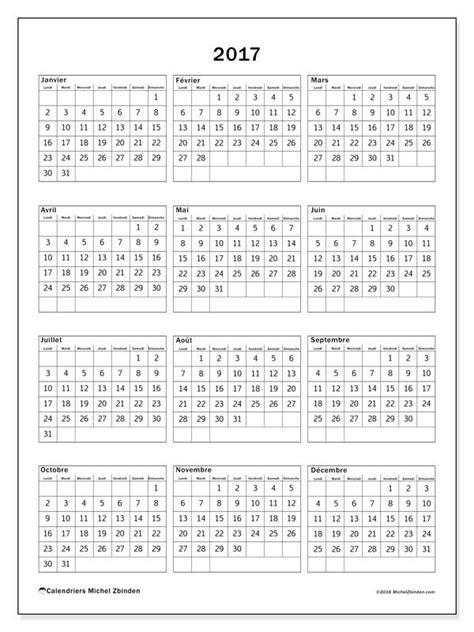 Gratuit ! Calendriers pour 2017 à imprimer | calendrier