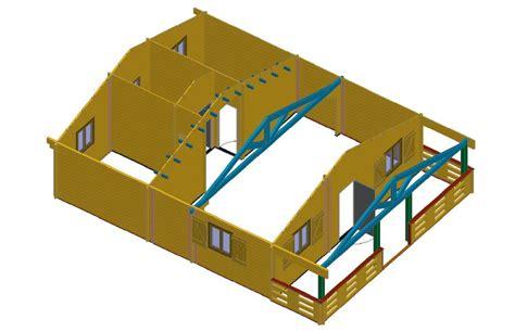 maison en kit pas cher de loisirs 68m2 chalets habitables en bois en kit