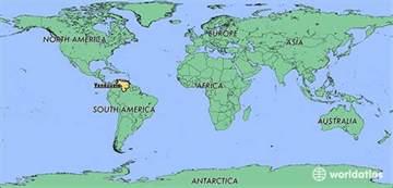 Venezuela On World Map by Where Is Venezuela Where Is Venezuela Located In The