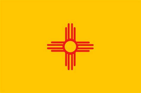 state of new mexico flag and map coloring pages