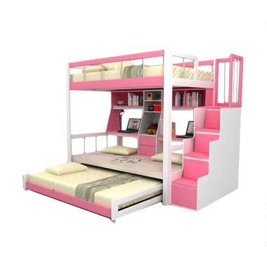 Funkids Tempat Tidur Anak Multifungsi Nouva 01 100 Tangga Laci jual tempat tidur tingkat terbaru harga menarik