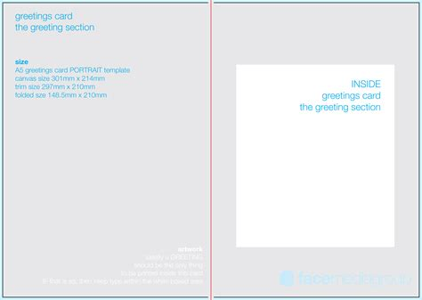 template card free blank greetings card artwork templates for