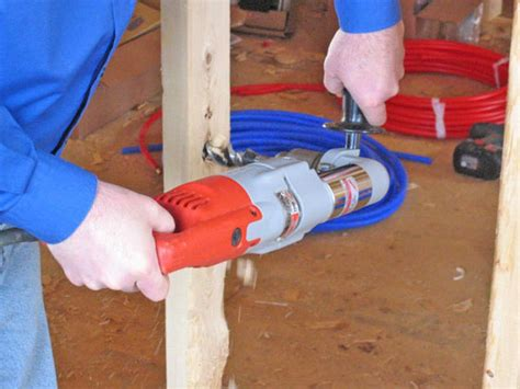 how to run plumbing how to install a pex plumbing system how tos diy