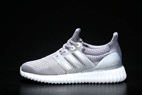 Adidas Running Ultra Yezzy Original adidas yeezy ultra boost mens trainers grey silver uk sale