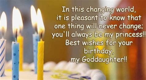 Happy Birthday Wishes For A Goddaughter Happy Birthday To My Goddaughter Wishes Quotes
