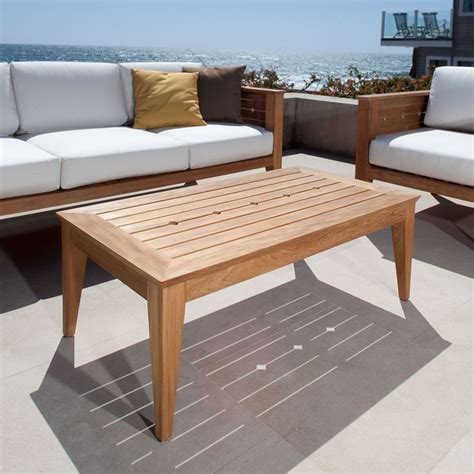 Outdoor Sofa Table Craftsman Teak Outdoor Sofa Table Westminster Teak