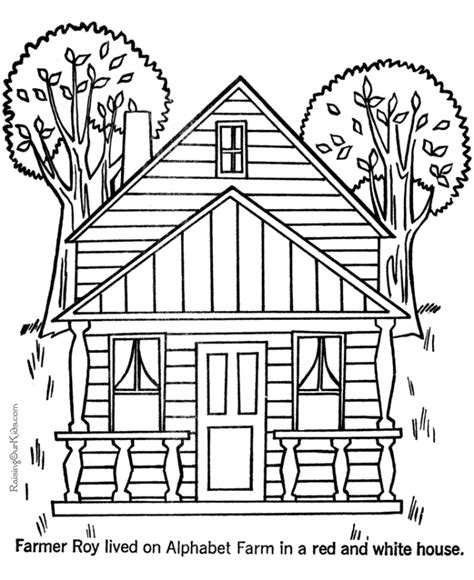 printable coloring pages for adults houses house color page coloring home