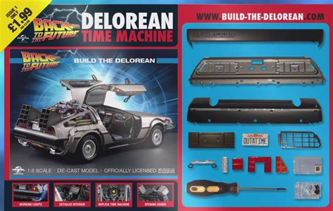 how to build a delorean great now you can build your own back to the future