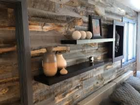 reclaimed wood vs new wood reclaimed weathered wood peel and stik wall planks
