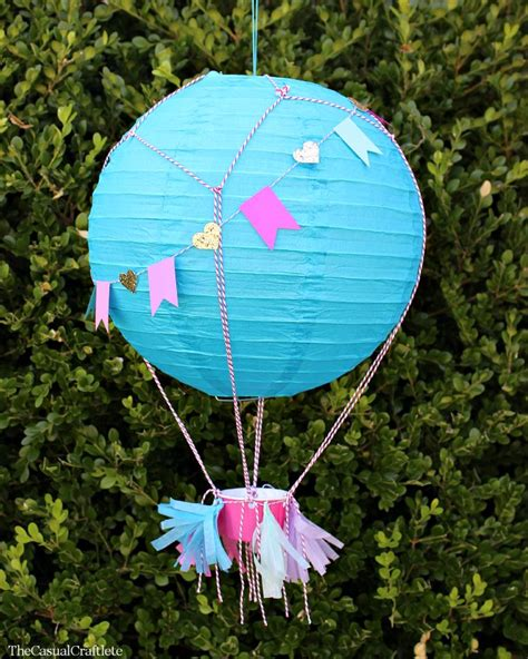 How To Make Paper Air Balloon Lantern - blue raspberry crafts paper lanterns and