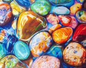 colored rocks rainbow rocks polychromatic drawings