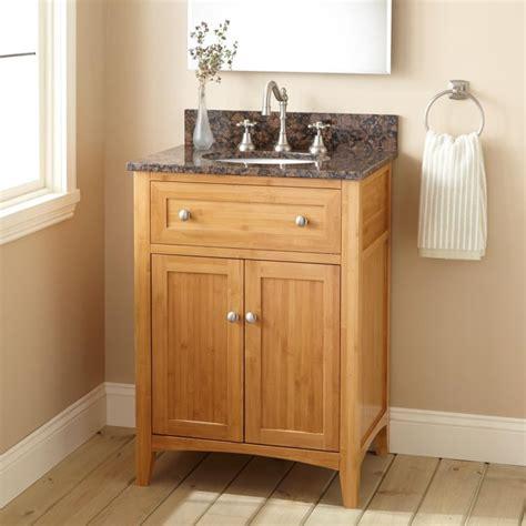 Ideas For Narrow Bathroom Vanities Design Bathroom Rustic Narrow Depth Bathroom Vanity For Undermount Sink Feat Gray Granite Countertop