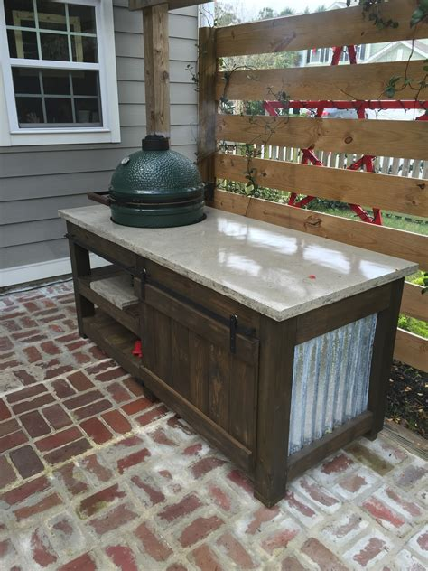 big green egg table plans ideas the lowcountry big green egg the table