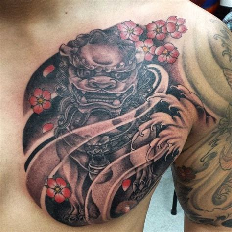 chinese dog tattoos designs 25 best ideas about foo on foo