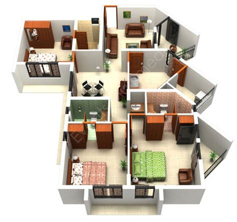 3d house floor plan architecture the house floor plan maker for home