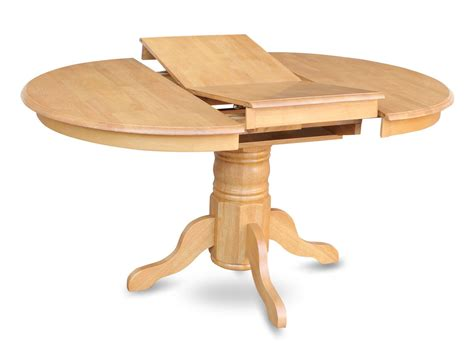 Dining Table Without Chairs One Avon Oval Dinette Kitchen Dining Table Without Chair In Light Oak Finish Sku Av Oak Tb