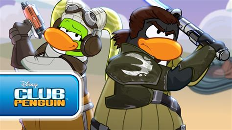 club penguin star wars rebels takeover behind the scenes sneak club penguin star wars rebels takeover official trailer