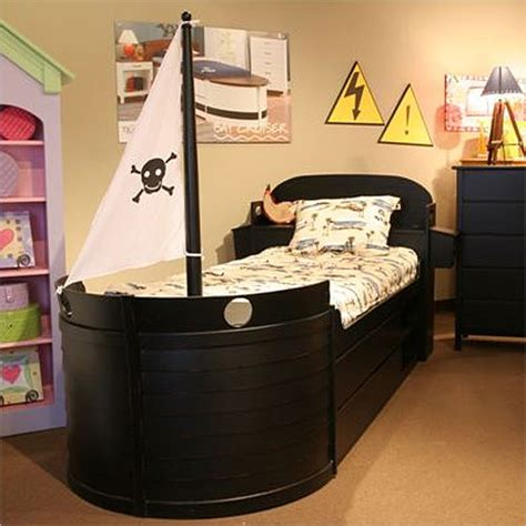 pirate ship bed tradewins pirate boat bed kids and baby design ideas