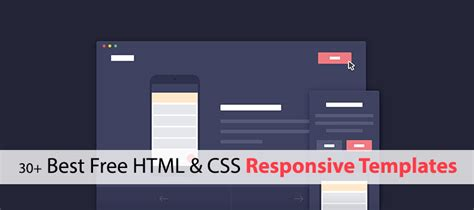 30 Best Free Html Css Responsive Templates Creativecrunk Free Html Templates Responsive