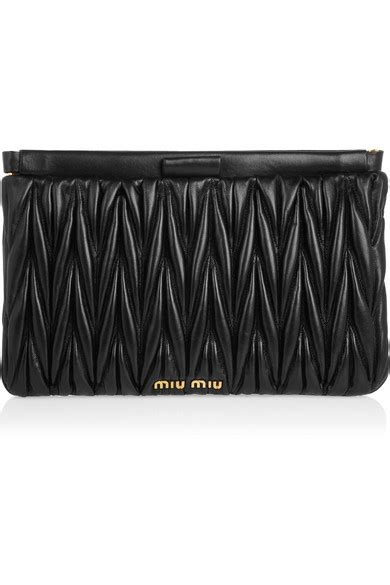 Fashion Miu Miu Single Bag Mini Series 1644 miu miu matelass 233 leather clutch net a porter