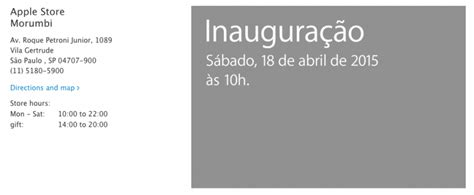 Second Store For Marc by Apple To Open Its Second Store In Brazil On April 18
