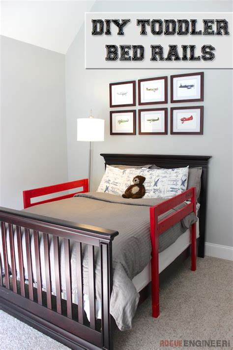 kids bed rail diy toddler bed rail pinterest bed rails boys and engineers
